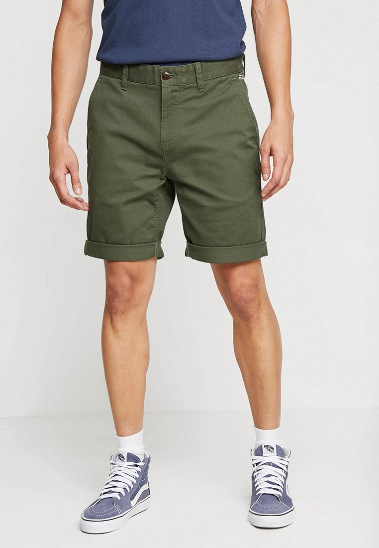 Tommy Jeans - ESSENTIAL - Shorts - green