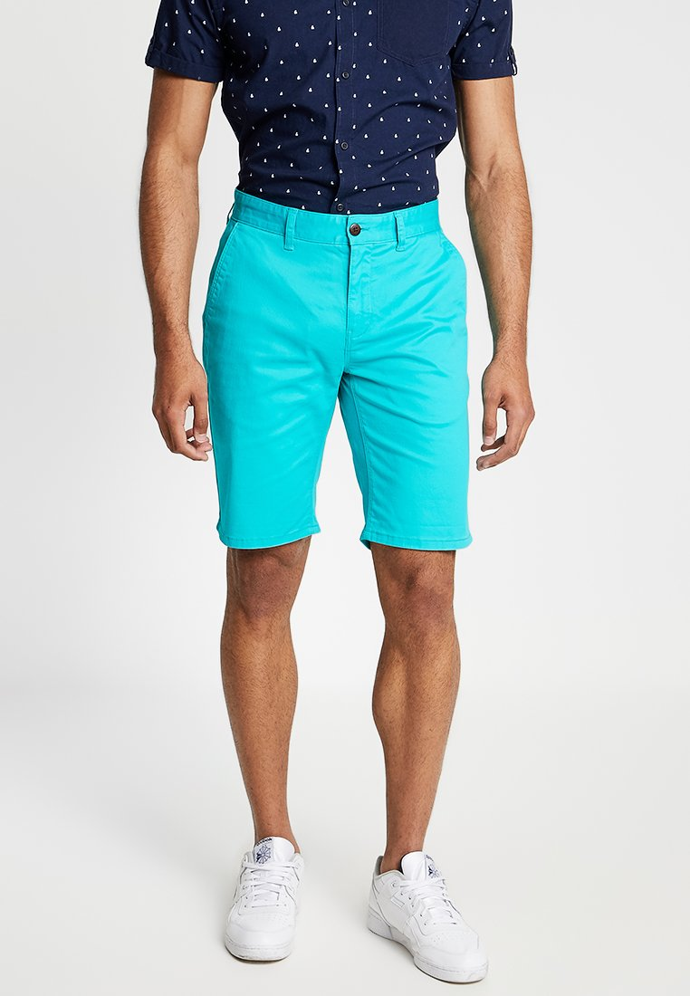 Tommy Jeans - ESSENTIAL - Shorts - turquoise