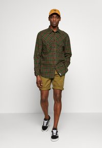 Tommy Jeans - ESSENTIAL - Shorts - uniform olive - 1