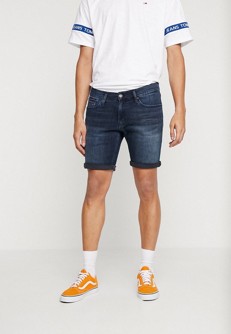Tommy Jeans - SCANTON - Denim shorts - denim