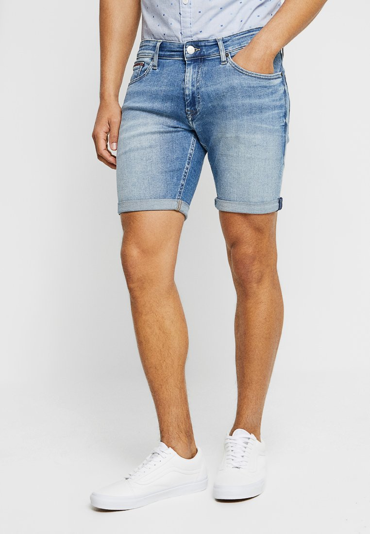 Tommy Jeans - SCANTON - Jeans Shorts - denim
