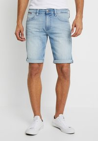 Tommy Jeans - RONNIE BELB - Jeans Shorts - denim - 0