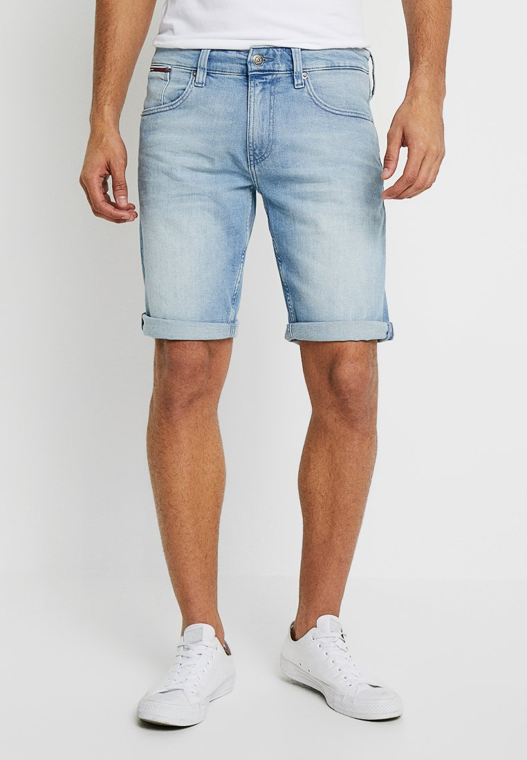 Tommy Jeans - RONNIE BELB - Jeans Shorts - denim