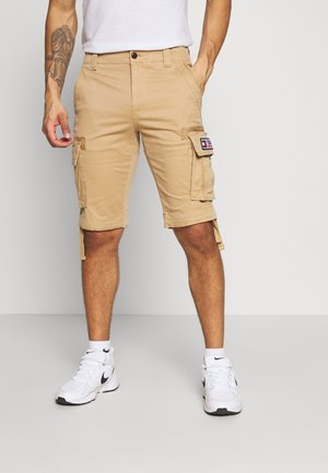 SOLID - Shorts - classic khaki
