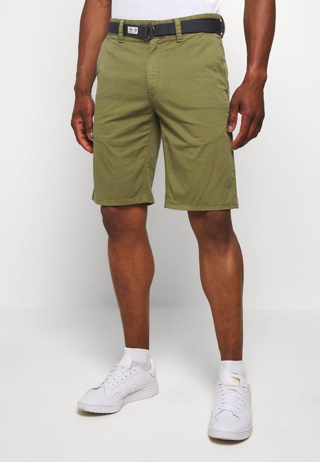 TJM VINTAGE WASH  - Shorts - uniform olive