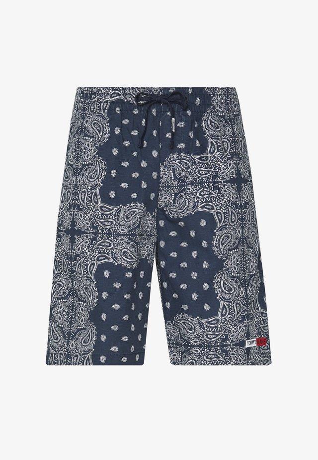 TJM BANDANA  - Shorts - blue