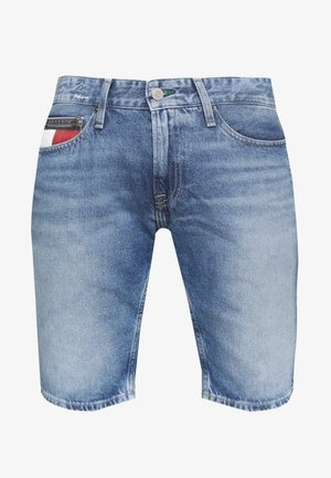 SCANTON HERITAGE - Shorts vaqueros - light blue denim