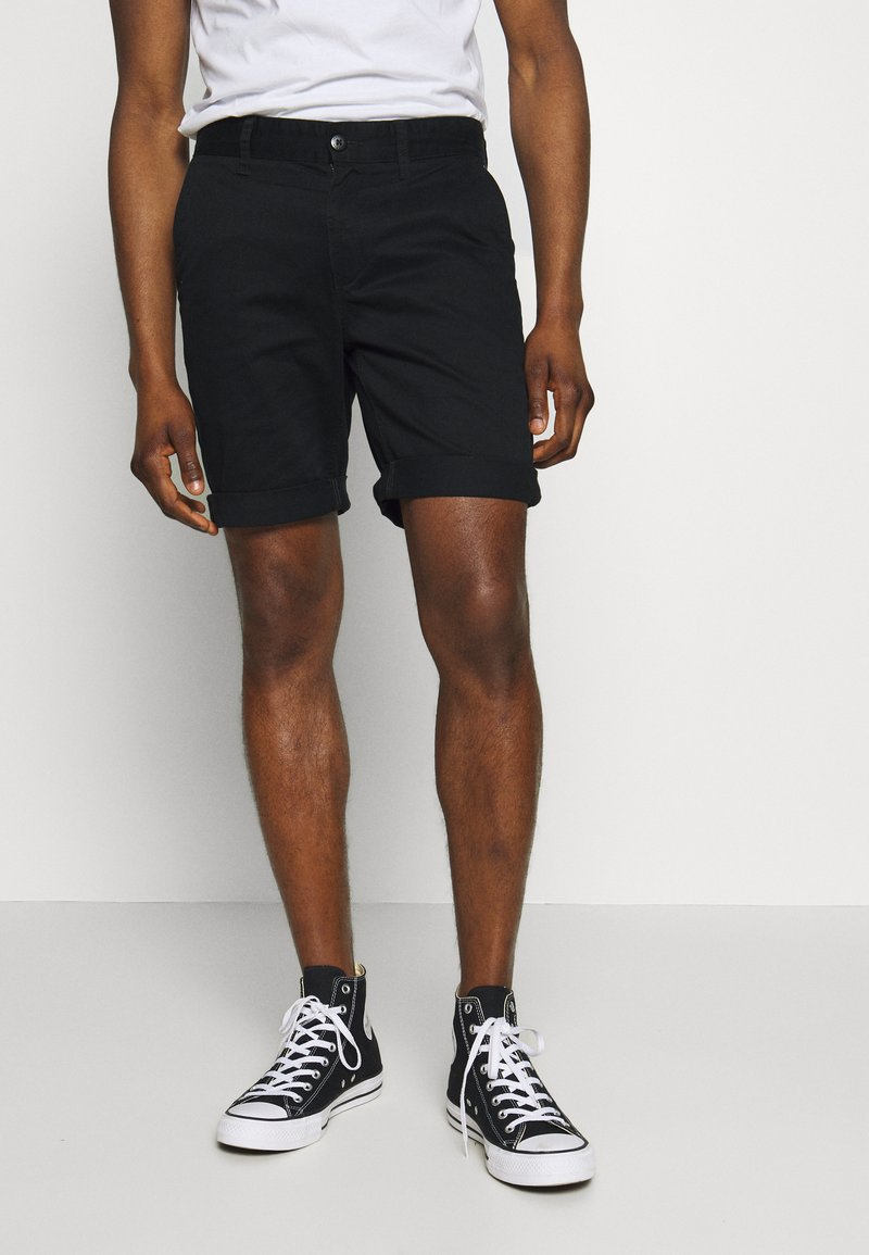 Tommy Jeans - ESSENTIAL - Shorts - black