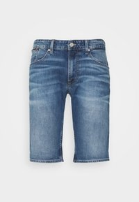 Tommy Jeans - RONNIE RELAXED  - Denim shorts - blue denim - 4