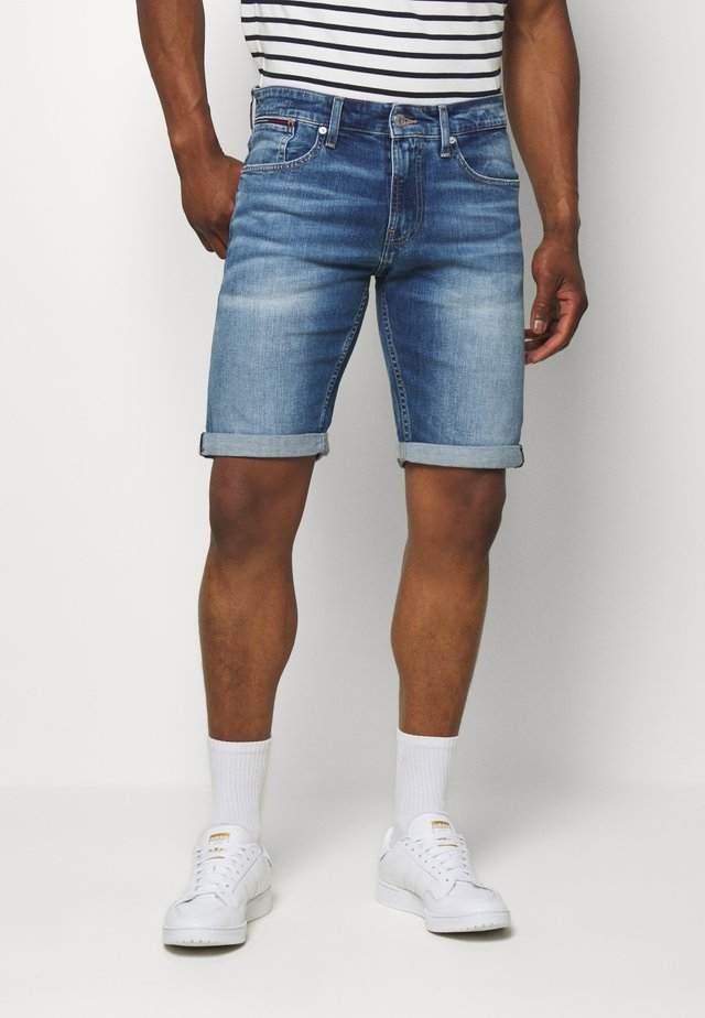 RONNIE RELAXED  - Farkkushortsit - blue denim