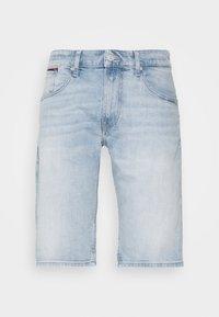 Tommy Jeans - RONNIERELAXED - Denim shorts - light-blue denim - 3