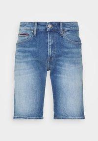 Tommy Jeans - SCANTON - Denim shorts - court mid - 3