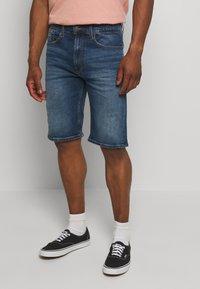 Tommy Jeans - Denim shorts - blue denim - 0