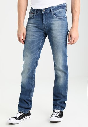 ORIGINAL RYAN BEMB - Jeansy Straight Leg - berry mid blue comfort