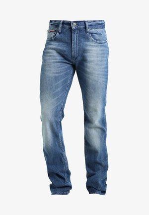 ORIGINAL RYAN BEMB - Jeansy Straight Leg - berry mid blue comfort