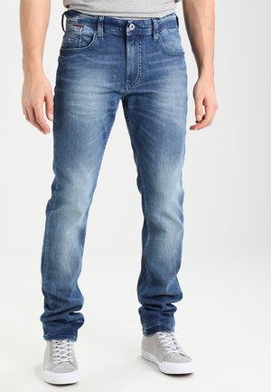 ORIGINAL TAPERED RONNIE BEMB - Zúžené džíny - berry mid blue