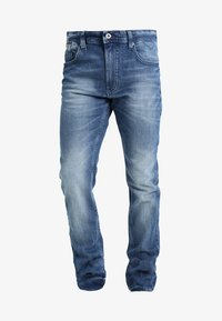 Tommy Jeans - ORIGINAL TAPERED RONNIE BEMB - Jeans Tapered Fit - berry mid blue - 3