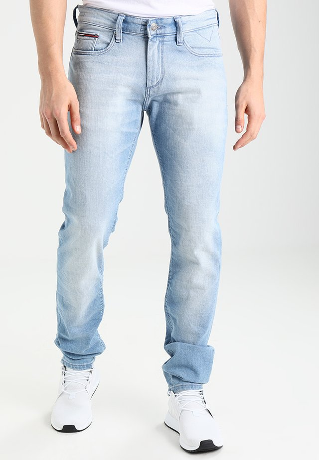 SLIM SCANTON BELB - Slim fit jeans - berry light blue