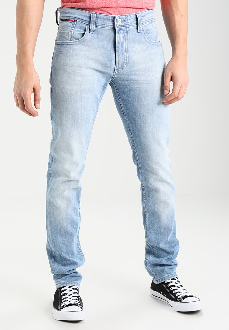 Tommy Jeans - ORIGINAL TAPERED RONNIE - Jeans Tapered Fit - berry light blue