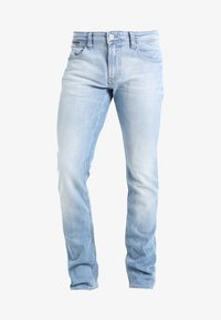 Tommy Jeans - ORIGINAL TAPERED RONNIE - Jeans Tapered Fit - berry light blue - 6