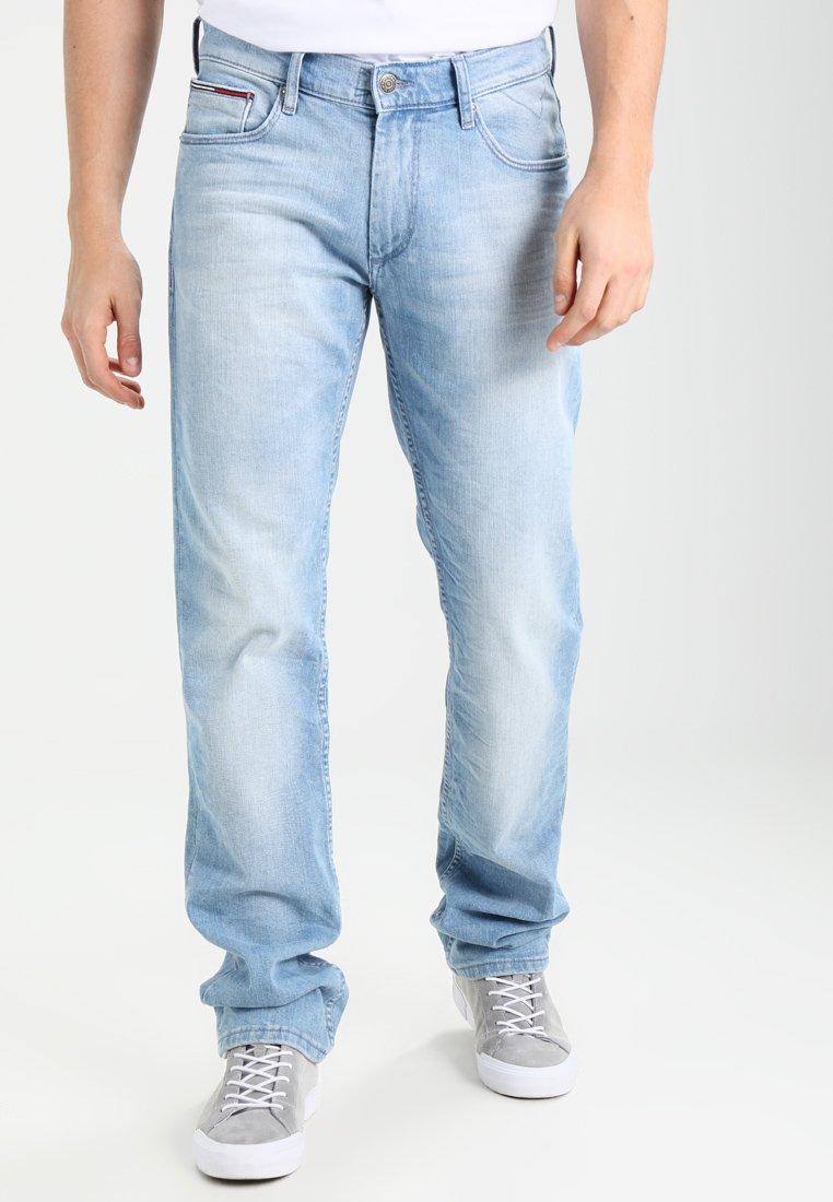 Tommy Jeans - ORIGINAL STRAIGHT RYAN BELB - Jean droit - berry light blue