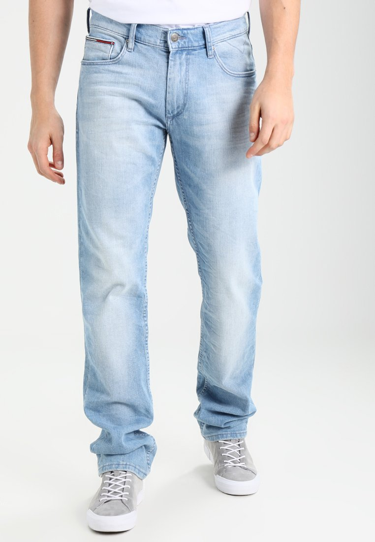 Tommy Jeans - ORIGINAL STRAIGHT RYAN BELB - Straight leg jeans - berry light blue