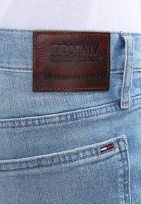 Tommy Jeans - ORIGINAL STRAIGHT RYAN BELB - Jean droit - berry light blue - 5