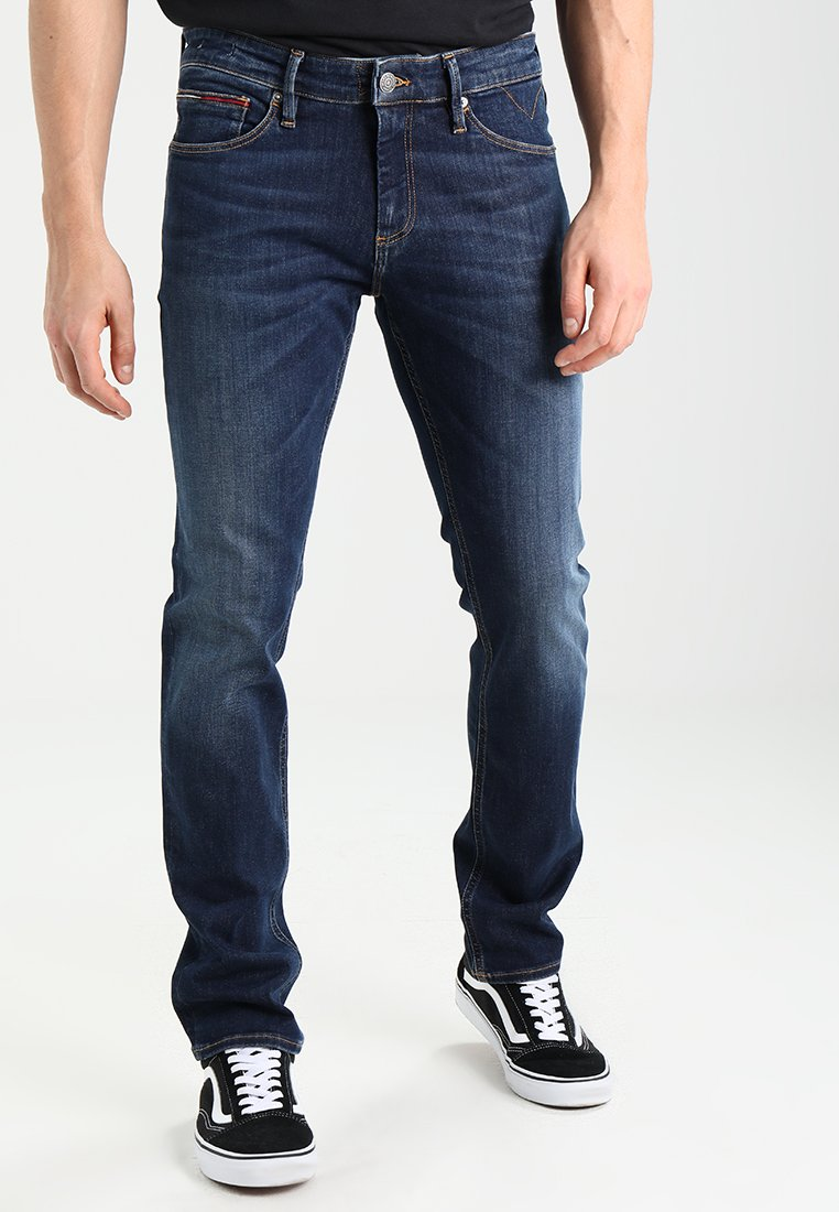 Tommy Jeans - SLIM SCANTON - Slim fit jeans - dynamic true dark