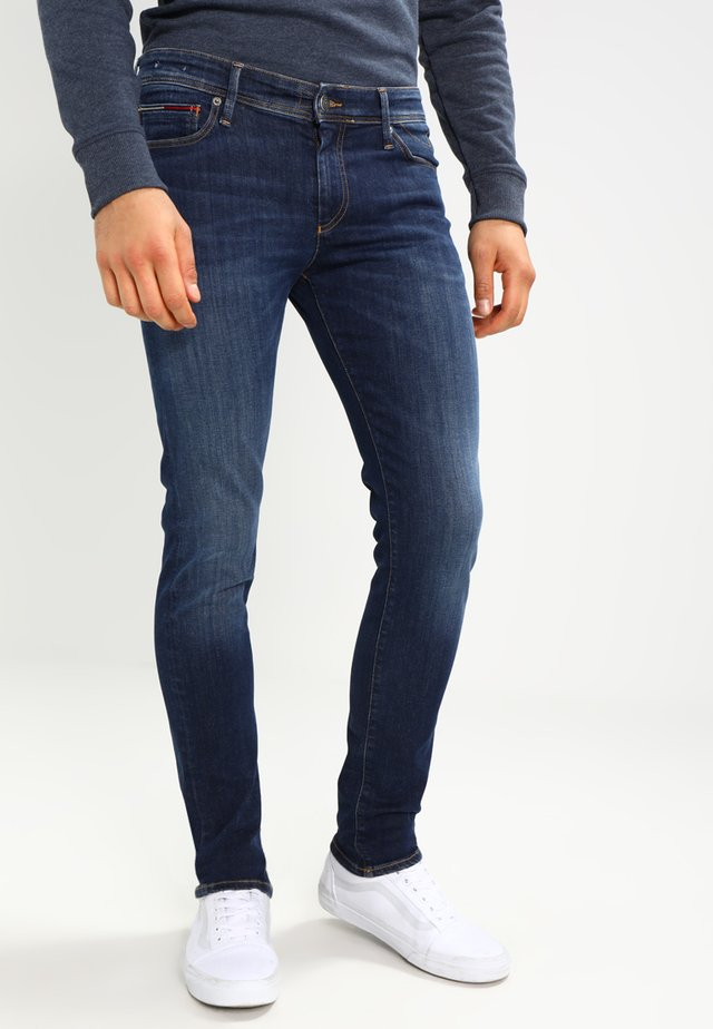 SKINNY SIMON - Jeans Skinny Fit - dynamic true dark