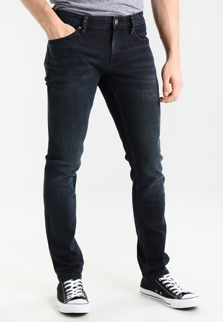 Tommy Jeans - SLIM SCANTON COBCO - Slim fit -farkut - cobble black comfort