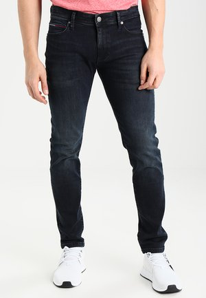 SKINNY SIMON - Jeansy Slim Fit - cobble black