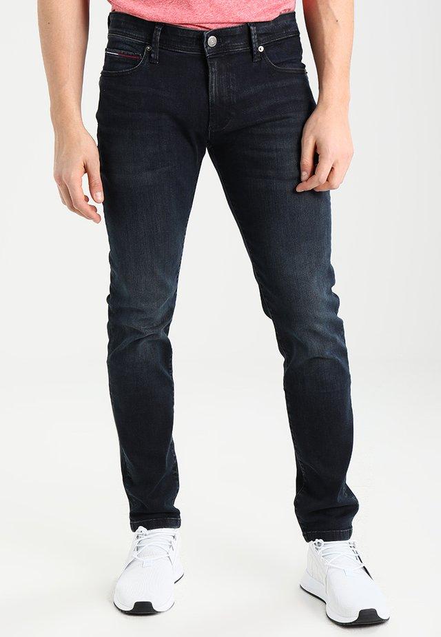 SKINNY SIMON - Jeans Slim Fit - cobble black