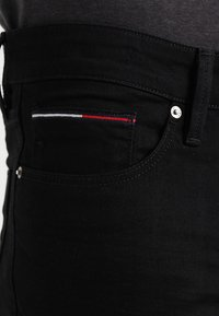 Tommy Jeans - SCANTON - Slim fit jeans - black comfort - 3