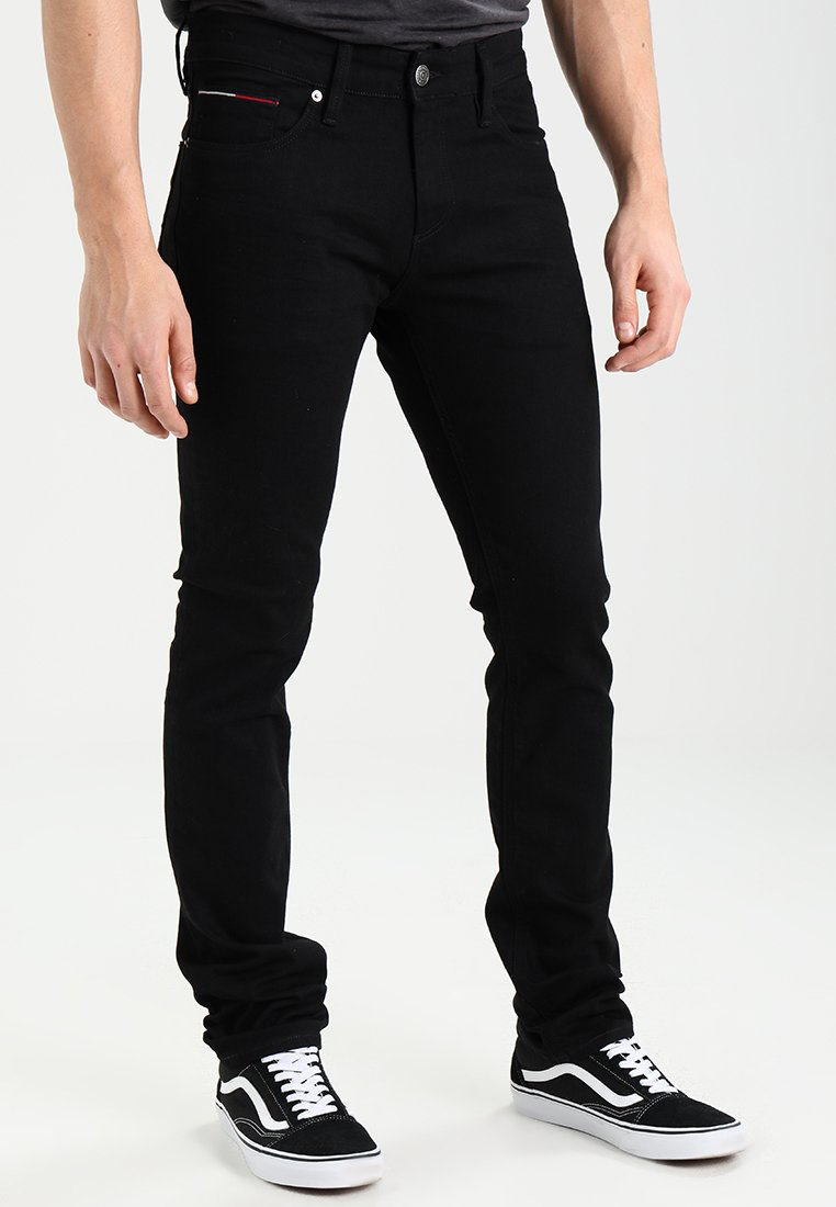 Tommy Jeans - SCANTON - Jeans Slim Fit - black comfort