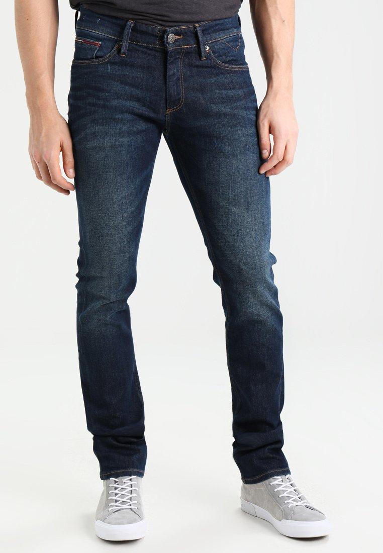 Tommy Jeans - SLIM SCANTON DACO - Vaqueros slim fit - dark