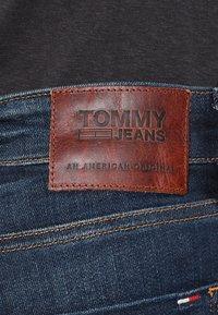 Tommy Jeans - SLIM SCANTON DACO - Jeansy Slim Fit - dark - 5