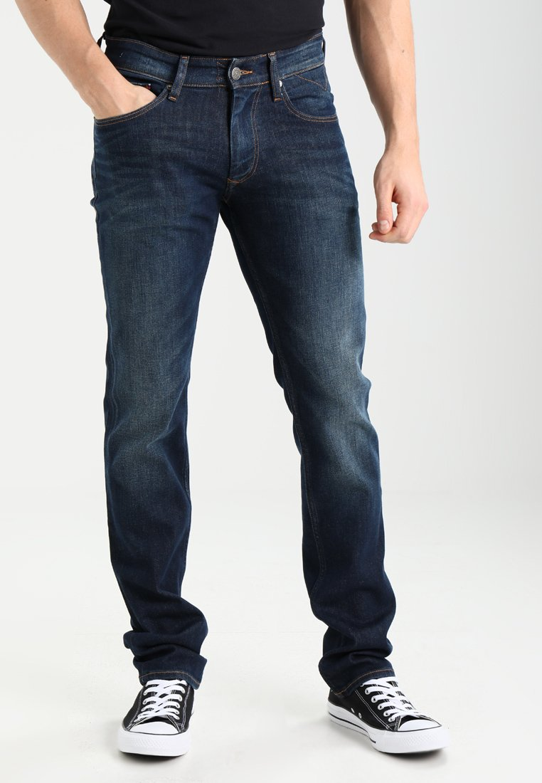 Tommy Jeans - ORIGINAL STRAIGHT RYAN DACO - Straight leg jeans - dark