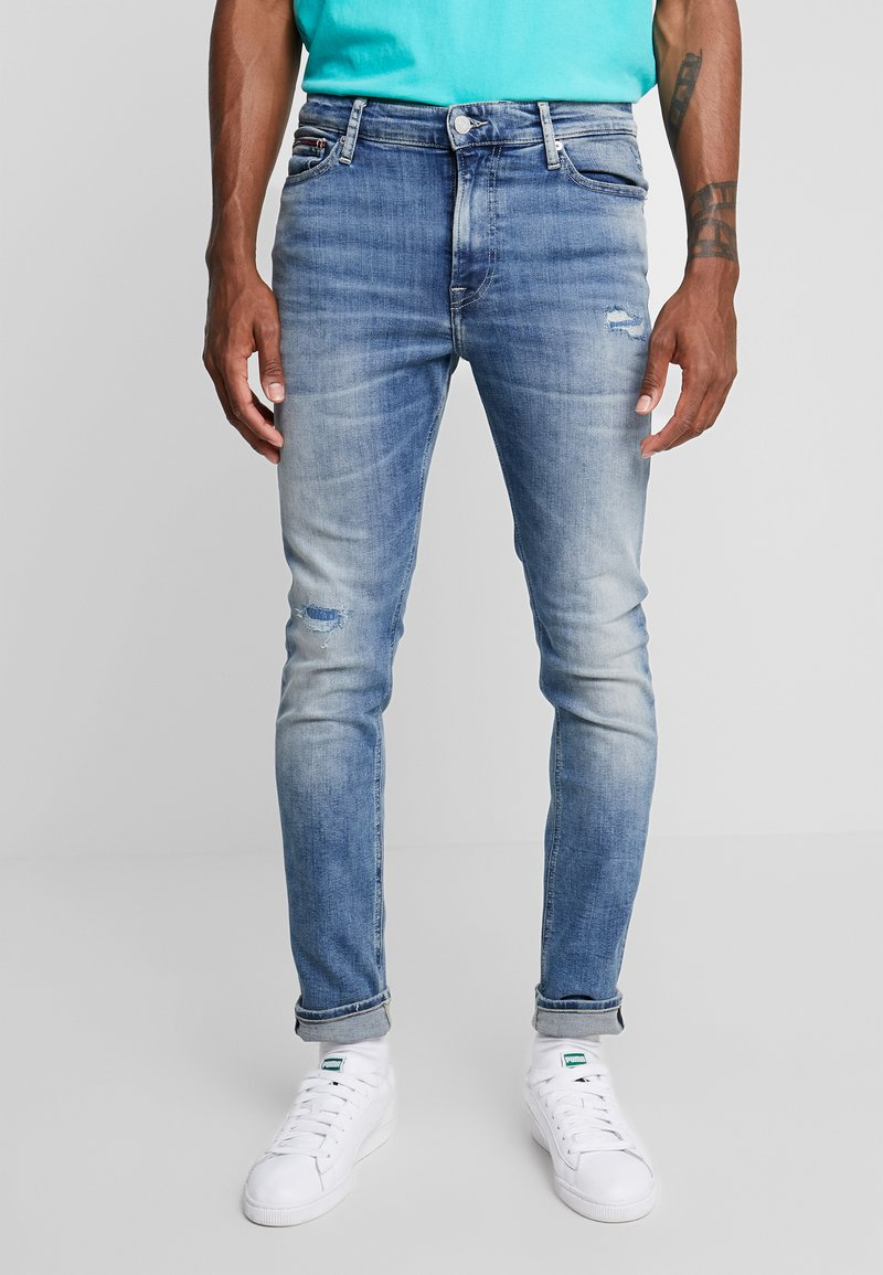 Tommy Jeans - SKINNY SIMON  - Slim fit jeans - light-blue denim