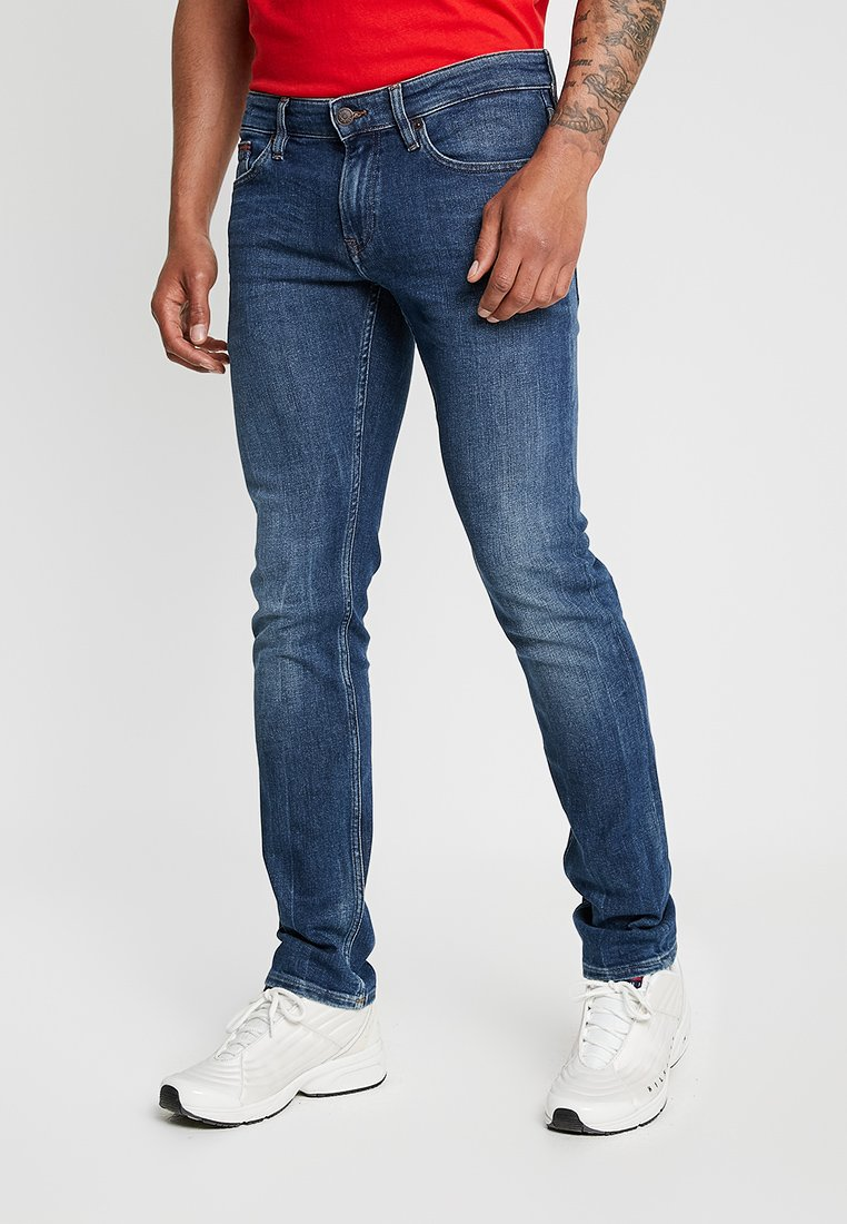 Tommy Jeans - SCANTON HERITAGE  - Jeans slim fit - dark-blue denim