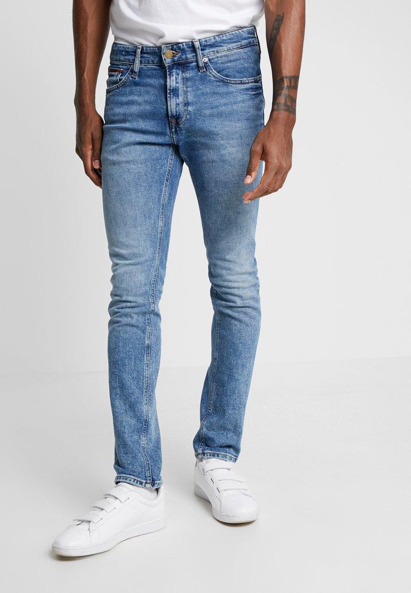 Tommy Jeans - SCANTON HERITAGE  - Slim fit jeans - blue denim