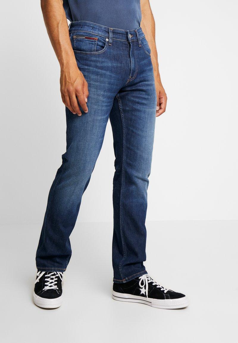 Tommy Jeans - ORIGINAL STRAIGHT RYAN  - Straight leg jeans - dark-blue denim