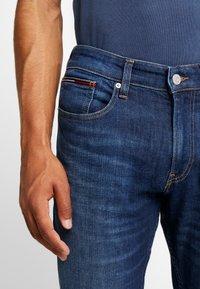 Tommy Jeans - ORIGINAL STRAIGHT RYAN  - Jeans straight leg - dark-blue denim - 4