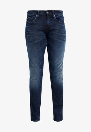 SCANTON  - Slim fit jeans - cherry