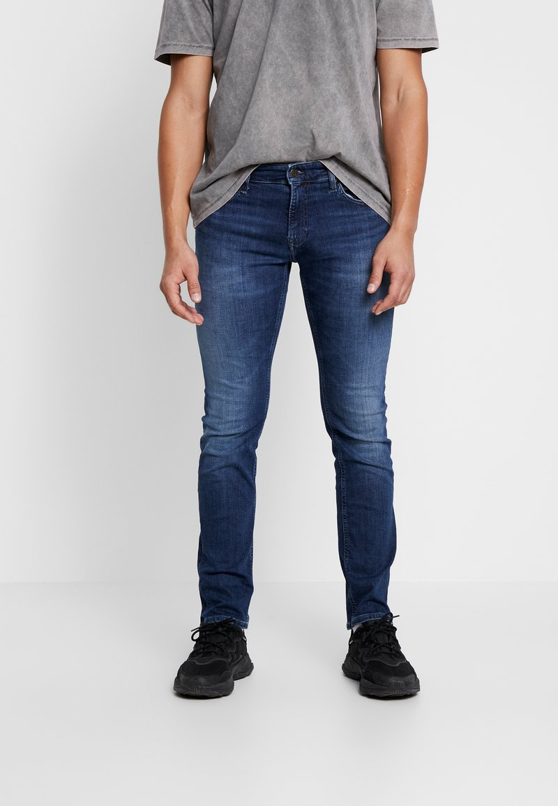 Tommy Jeans - SCANTON SLIM - Jeans slim fit - nassau dark