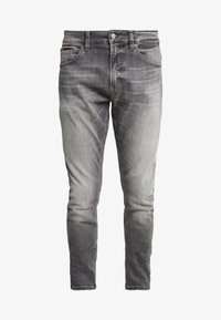 Tommy Jeans - STEVE SLIM TAPERED - Jeans Tapered Fit - nostrand grey stretch - 4