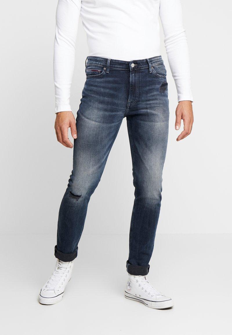 Tommy Jeans - SIMON SKINNY - Jeans Skinny Fit - grey denim