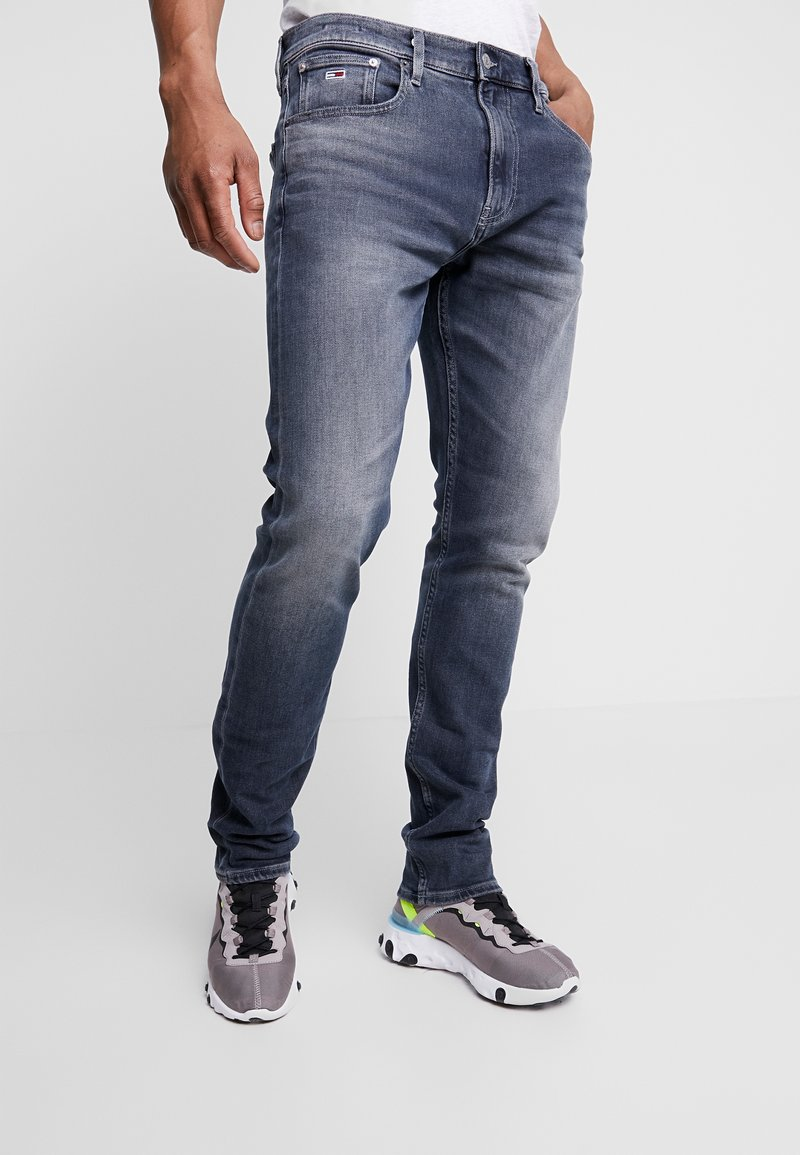 Tommy Jeans - 1988 RELAXED TAPERED - Jeans Tapered Fit - durban dark blue