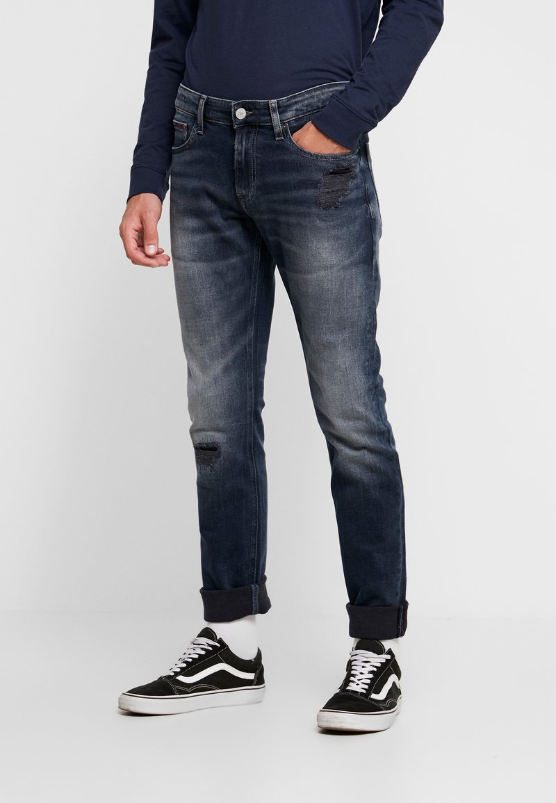 Tommy Jeans - SCANTON - Jeans Slim Fit - rock grey
