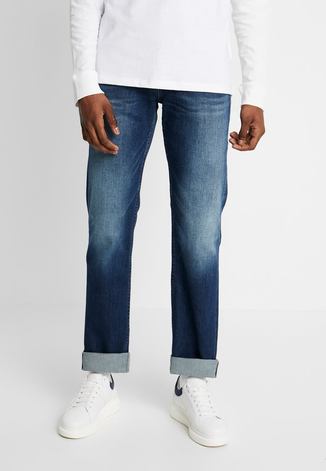 RYAN  - Jeans Bootcut - atlanta dark blue