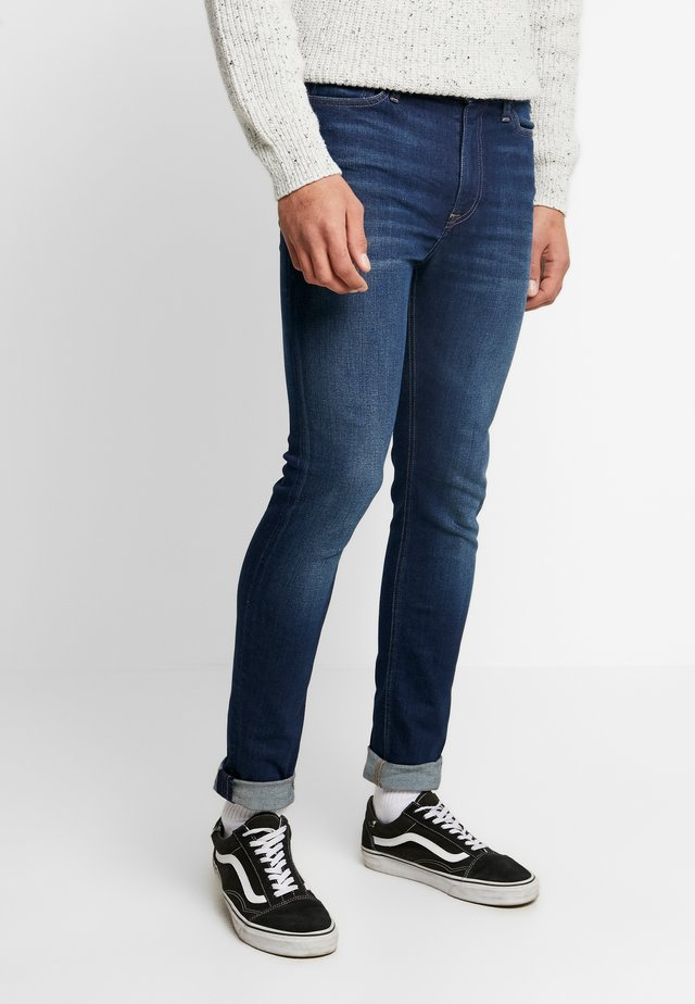 SIMON  - Jeans Skinny Fit - dark-blue denim
